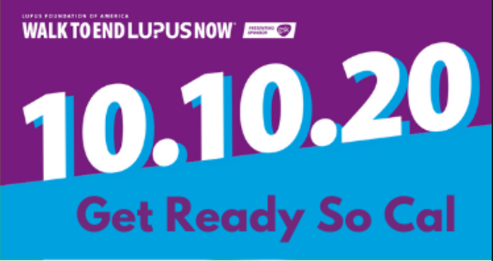 Walk to End Lupus Now 10.10.20